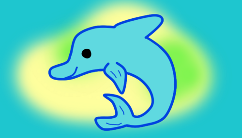 Dolphin-Island city flag