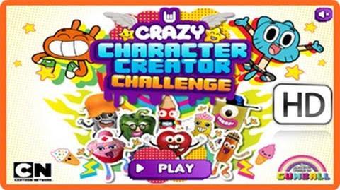 Video - Gumball Games - Crazy Character Creator Challenge