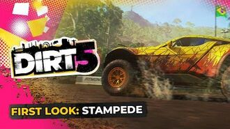 DIRT 5 Gameplay First Look Stampede Time Trial Xbox Series X, PS5