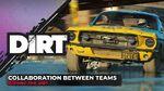 Collaboration Between Teams Dishing the DIRT Codemasters