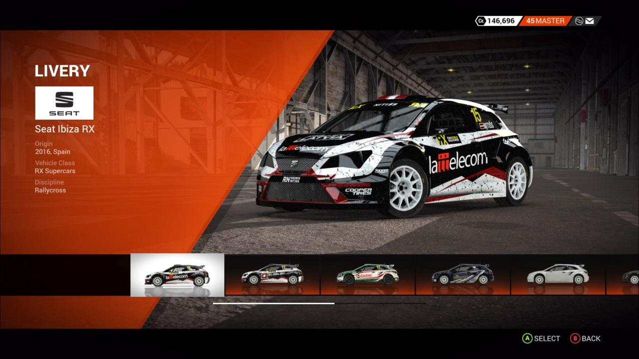 DiRT 4 SEAT Ibiza RX