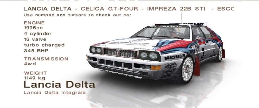 CMR2005 Lancia Delta HF Integrale