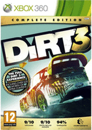 Dirt 3: complete edition (2012) xbox 360 box cover art mobygames.