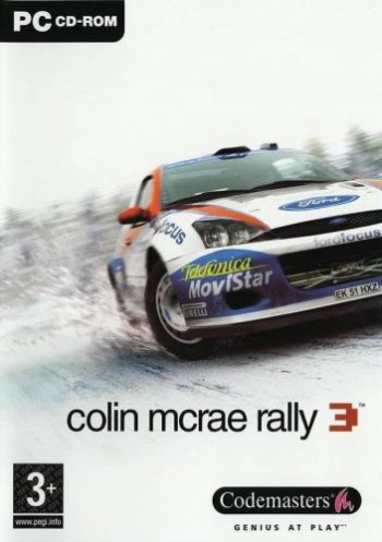 Colin mcrae rally 3-front