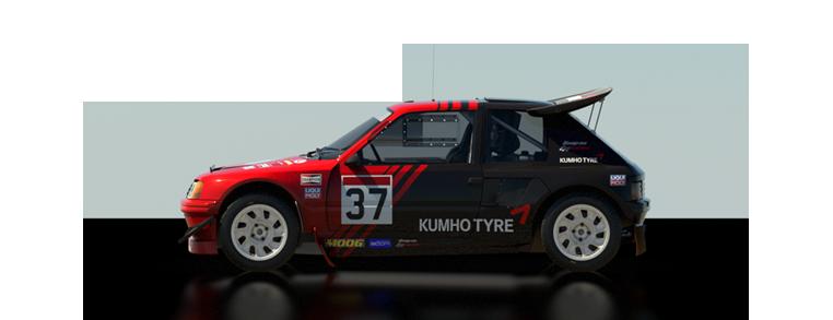 DiRT Rally Peugeot 205 T16 Evo 2
