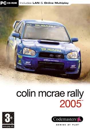 Colin mcrae rally 2005-front