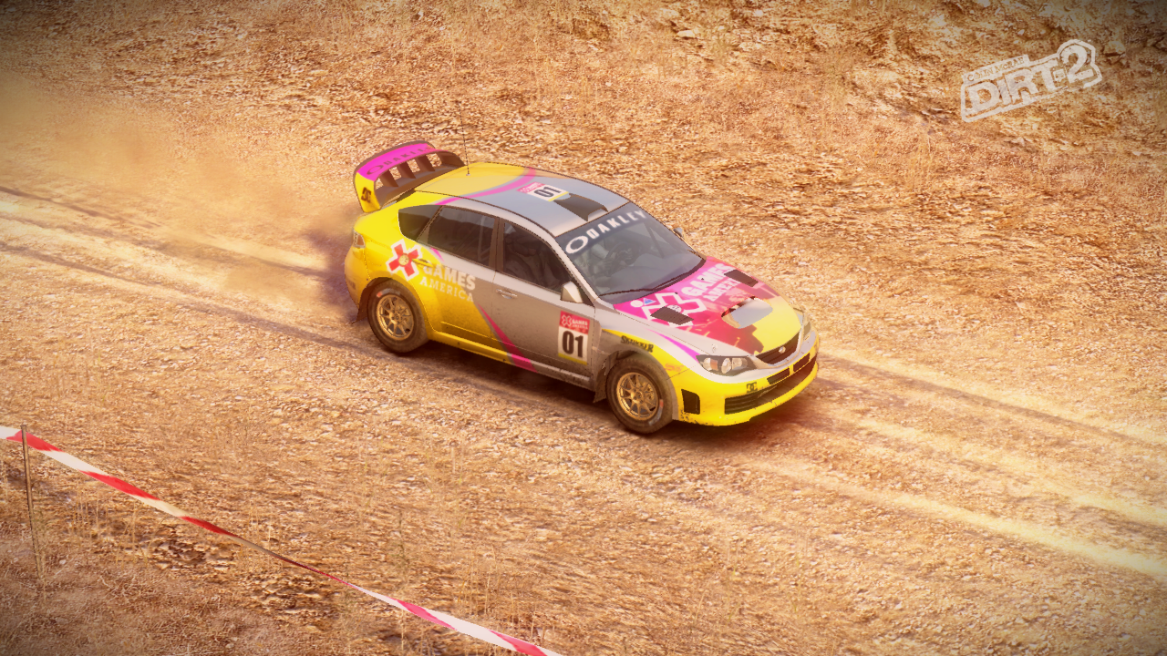 Subaru impreza x-games