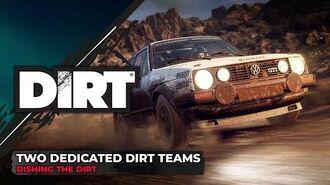 Dedicated DIRT Teams Dishing the DIRT Codemasters