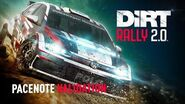 Pacenote Validation DiRT Rally 2