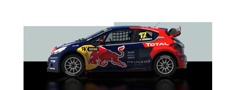 DiRT Rally Peugeot 208 WRX