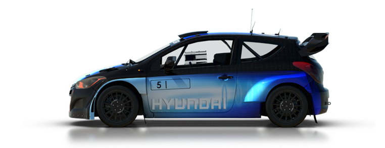 DiRT Rally Hyundai Rally