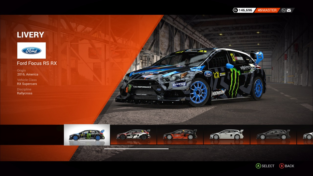 DiRT 4 Ford Focus RS RX