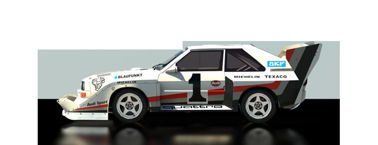 DiRT Rally Audi Sport quattro S1 PP