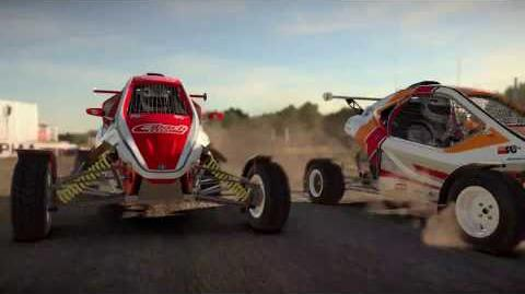 DiRT 4 Gameplay trailer Be Fearless UK