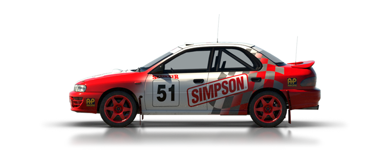 DiRT Rally Subaru Impreza 1995