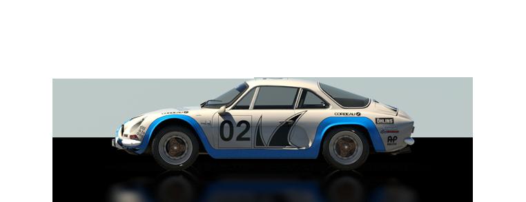 DiRT Rally Renault Alpine A110