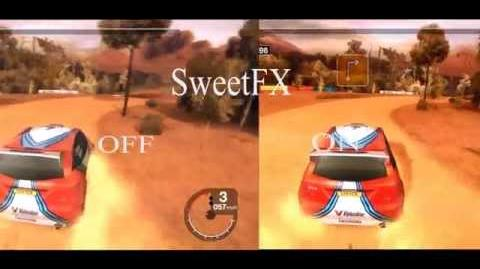 SWEETFX enabled in - Colin McRae Rally Remastered - Win 8.1 Improved graphics mod 60 FPS