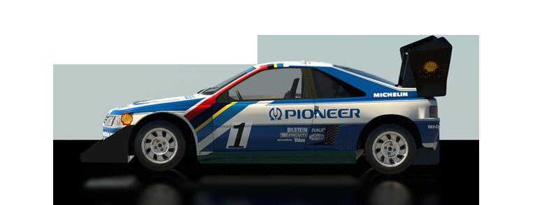 DiRT Rally Peugeot 405 T16 Pikes Peak