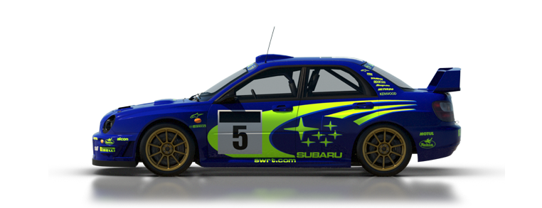 DiRT Rally Subaru Impreza 2001