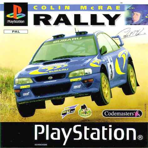 Colin mcrae rally-front
