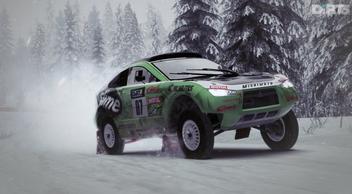 DiRT 3 Mitsubishi Racing Lancer