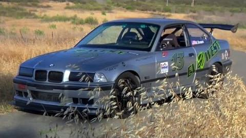This Electric E36 Makes 850 lb ft of Torque at the Wheels! - TUNED