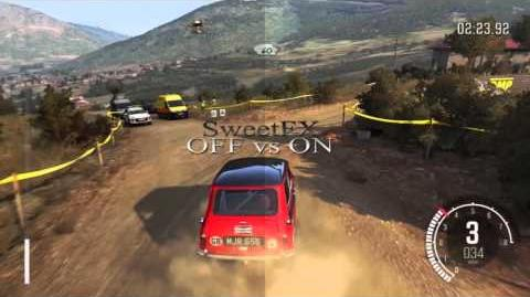 Dirt Rally - SweetFX mod - gameplay PC graphics mod Windows 10