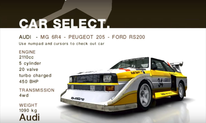 CMR2005 Audi Sport quattro S1 E2