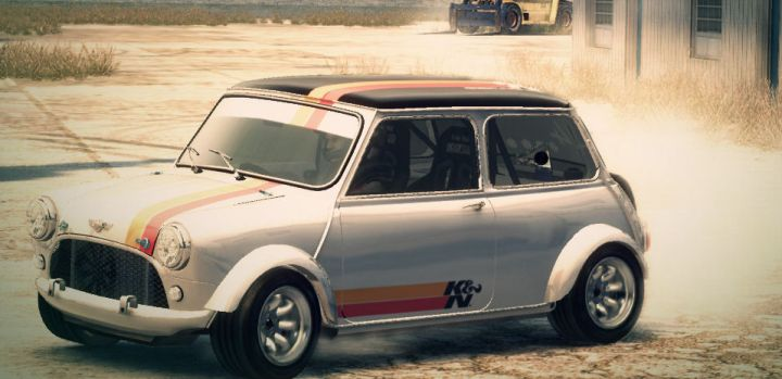 Mini Cooper S Gymkhana | Colin McRae Rally and DiRT Wiki