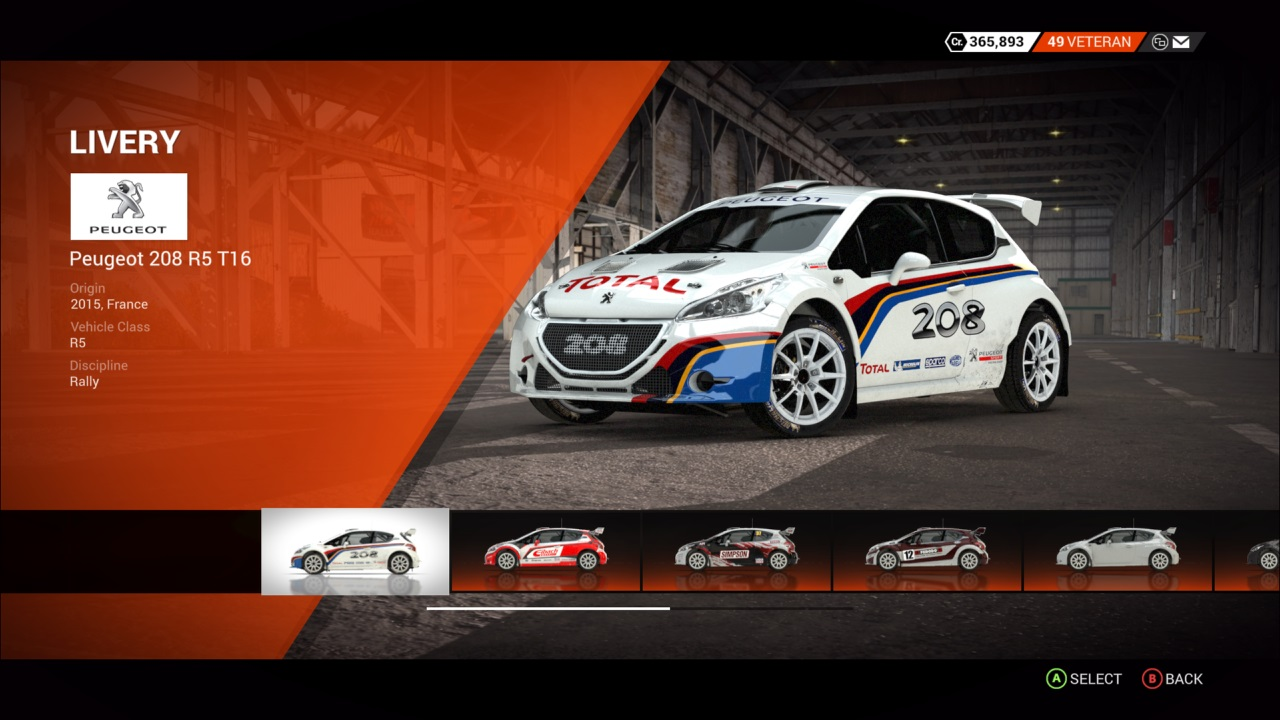 peugeot 208 r5 t16 colin mcrae rally and dirt wiki. Black Bedroom Furniture Sets. Home Design Ideas