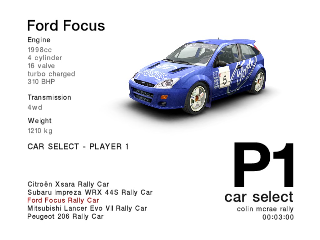 CMR 04 Ford Focus RS 2001