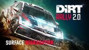 Stage degradation DiRT Rally 2
