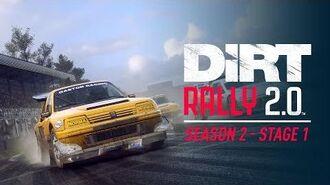Season 2, Stage 1 Trailer UK - DiRT Rally 2.0
