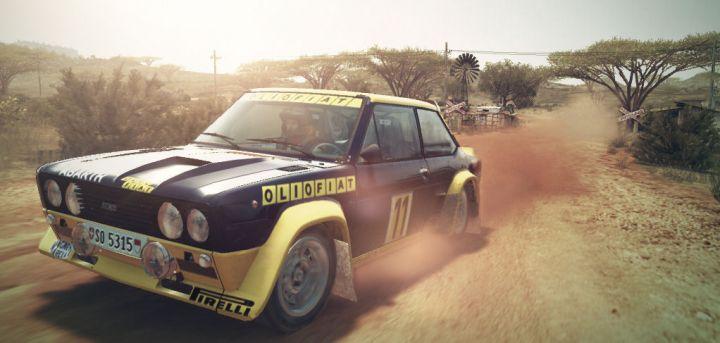 DiRT 3 Fiat 131 Abarth