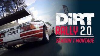 DiRT Rally 2.0 - Season 1 Montage Trailer UK