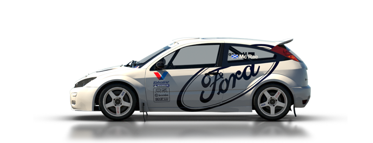 DiRT Rally Ford Focus RS 2001
