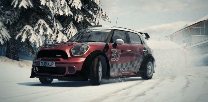 Mini countryman rally edition