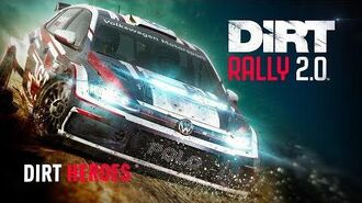Working with our heroes DiRT Rally 2.0