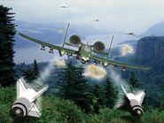 CNC1 A10 Missile Strike