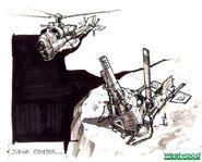RA2YR Siege Chopper concept art 2