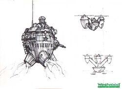 RA2 Flying Egg Concept
