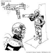 C&C Tiberian Incursion GDI Rocket Infantry