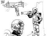 GDI rocket soldier (Tiberian Incursion)