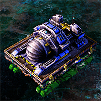 A passive Chronosphere on water