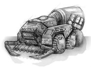 Renegade Harvester concept art