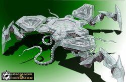 CNCT Alien Walker Eric Concept 1