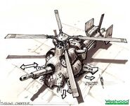 RA2YR Siege Chopper concept art 1