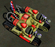 RA3 Tesla Tank