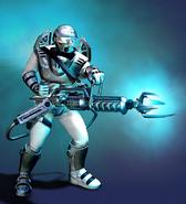RA2 Chrono Legionnaire Render