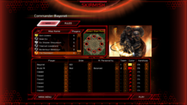 Kane's Wrath Skirmish Settings